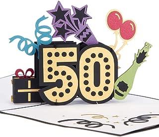 Cardology - Tarjeta de felicitación de 50 cumpleaños para ...