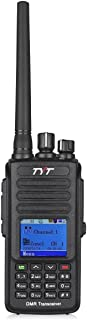 TYT Upgraded MD-390 DMR Digital Radio with GPS Function Waterproof Dustproof IP67 Walkie Talkie Transceiver UHF 400-480MHz Two-Way Radio with 2 Antennas