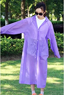 Rain Poncho Adult with Drawstring Hood, Lightweight Yet Strong, Reusable or Disposable, Suitable for Concerts, Amusement Parks, Fishing, Picnic, Camping, 1 pcs