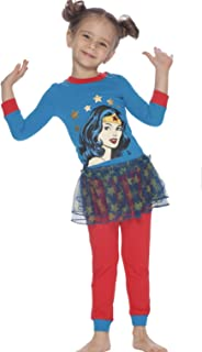 Little Girls' Wonderwoman Tutu Pajama Set