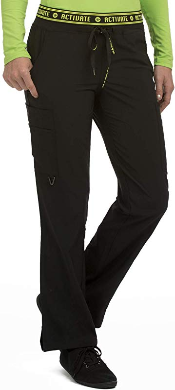 Med Couture Activate Scrub Pants Women Flow Yoga 2 Cargo Pocket Pant