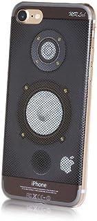 MRLab iPhone SE (SE 第2世代) ケース / iPhone8ケース / iPhone7ケース オシャレ カッコイイ アンプ スピーカ― 011