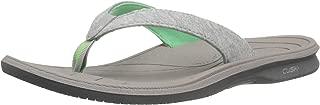 New Balance Women's Cush+ Heathered Thong Sandal