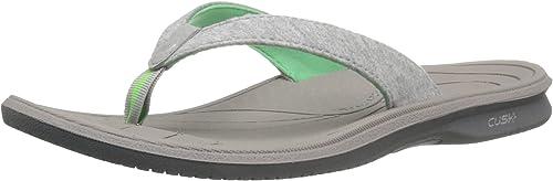 New Balance Wohommes Cush+ Heatherouge Thong Sandal