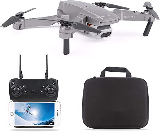 LSMIN Mini Drone HD Camera WiFi FPV Quadcopter 4CH 6-Axis Foldable Easy to Carry