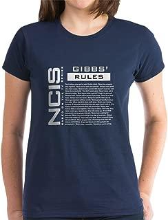 NCIS Gibbs' Rules Women's Dark Cotton T-Shirt