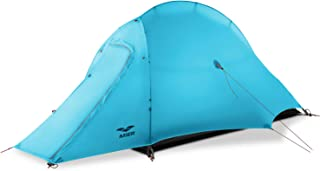 MIER Lightweight 1-Person Tent Easy Setup Outdoor Backpacking Tent, Footprint Included, Waterproof, 3 Season and 4 Season