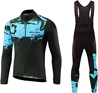 Uglyfrog Winter Thermal Fleece Men Cycling Jersey Suits Sets Gift
