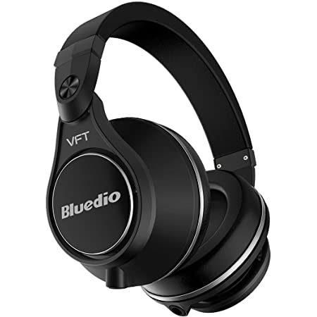 Bluedio U Plus Wireless Bluetooth PPS12 Drivers Over-Ear Headphones (Black)