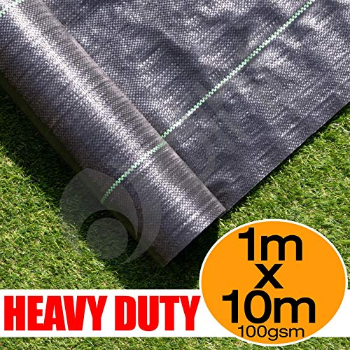 1m X 10m Ground Cover Fabric Landscape Garden Weed Control Membrane Heavy Duty