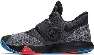 Men's KD Trey 5 VI Basketball Shoe Black/Chrome/Photo Blue/Bright Crimson Size 9 M US