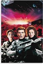 DJNGN Sterrenschip Troopers (1997) Rico en zijn teamgenoten Mode Retro Nostalgische Stijl Moderne Home Poster Collecties C...