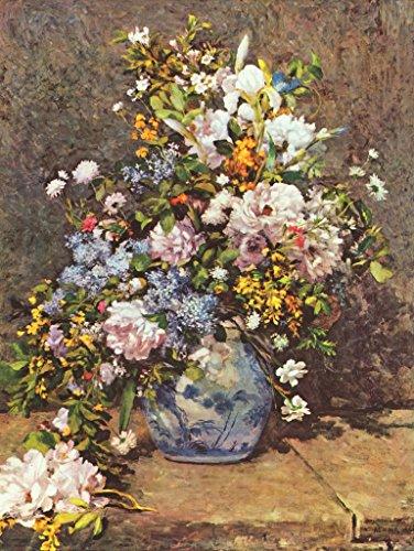 Lais Puzzle Pierre-Auguste Renoir - Natura Morta con Un Grande Vaso di Fiori 1000 Pezzi