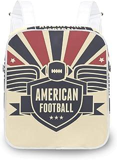 LUPINZ - Mochila con banderas de fútbol americano
