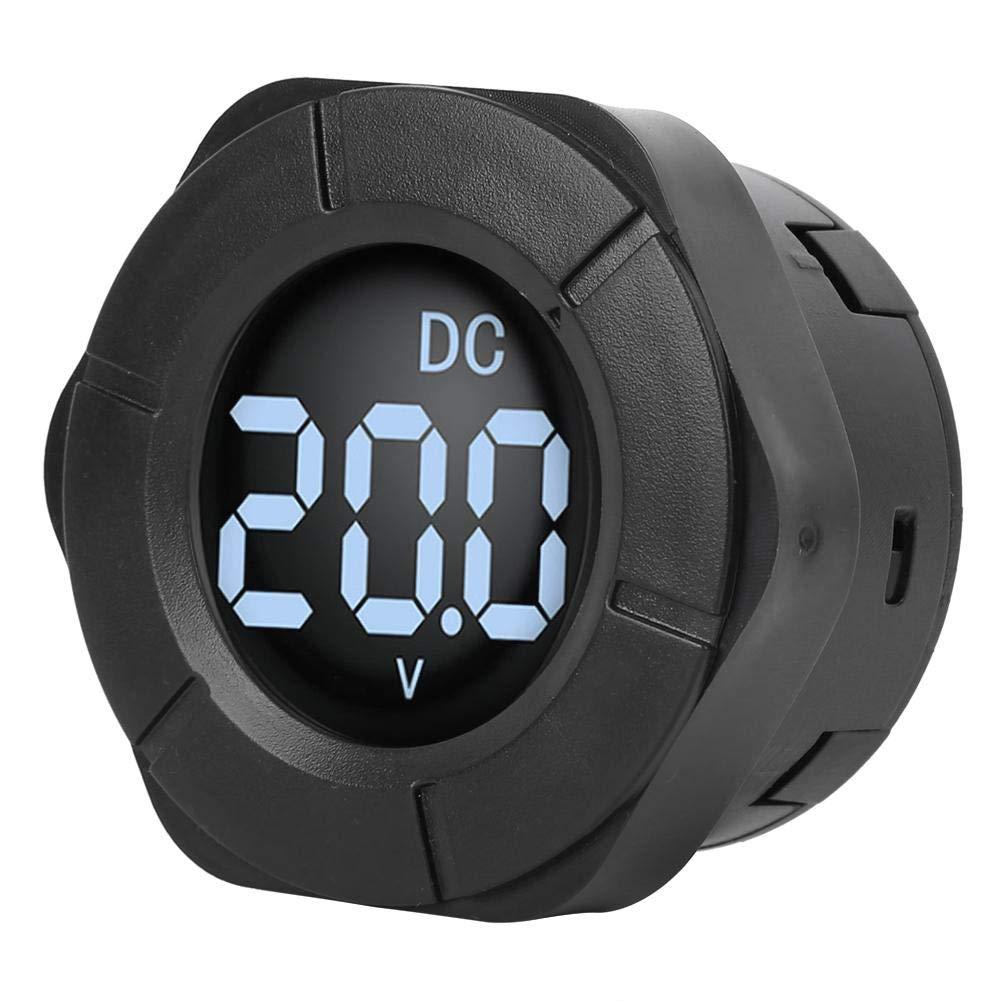 Round Digital LCD Display DC0-300V M Meter Voltmeter Voltage Car Sale price Luxury