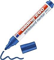 Edding 260 beyaz yazı tahtası kalemi, mavi