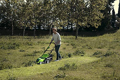 Greenworks Tools G40LM41K2X Cordless Lawnmower