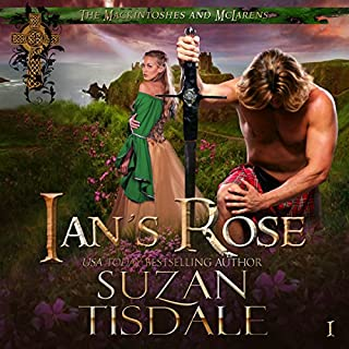 Ian's Rose audiobook cover art