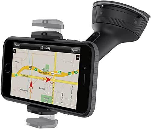 CAE Mount Belkin Universal Phone Car Mount Compatible with Devices up to 6 inches Wide, Convenient Mount Rotates 360 ...