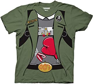 Goonies Adult Unisex Data Costume Light Weight 100% Cotton Crew T-Shirt