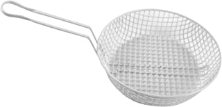 Thunder Group 3-Inch Deep Breading Basket with 12-Inch Round Coarse Mesh