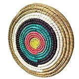 [page_title]-Tophunt Zielscheibe Bogenschießen Traditionelles Strohzielscheibe Durchmesser 50 cm für im Freiensport-Bogenschießen-Bogen und Schießdart