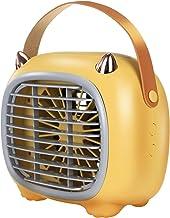 mini airconditioners draagbare luchtbevochtiger luchtkoeler desktop koelventilatoren 2000 mAh oplaadbare verdampings3 snel...