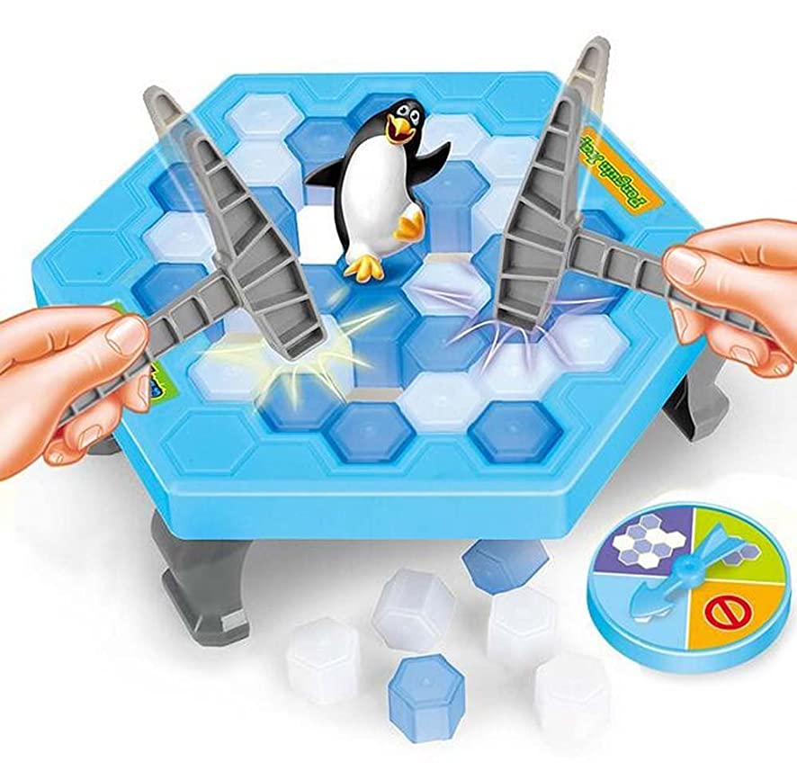 Ice Breaking Game (big set)- The One Who Make The Penguin Fall Off , The Will Lose This Game