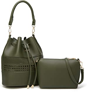 Andrya Women Leather Tote bags Satchel Top Handle Cross body Shoulder Hobo Handbags for Ladies