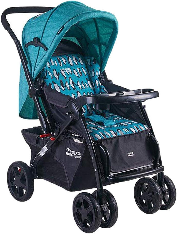 MINISU Sugling Premium Kinderwagen, Reisesystem, Reversible Stodmpferfalten Geeignet für die Geburt Reise