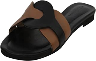 Salt N Pepper Avril Real Leather Women Casual Sandal