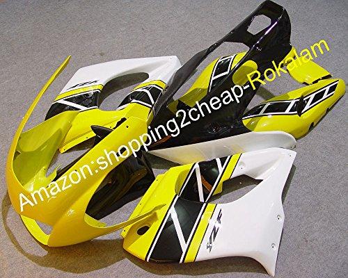YZF1000R Carenados de China para Yamaha YZF 1000 R Thunderace 1997 – 2007 amarillo, negro, blanco, carenado para moto de carreras