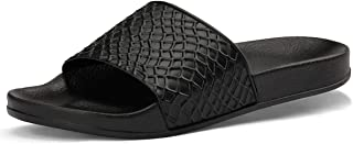Raydem Men Slide Sandals Athletic Slippers with Arch Support for Shower Pool Beach Sports Gym Spa Trip Outdoor House