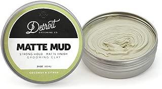 3.4 oz. Matte Mud - Grooming Clay - Detroit Grooming Company