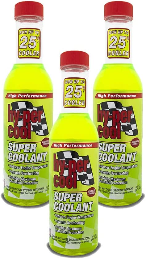 Hy-Per low-pricing Lube HPC100-3PK Limited time trial price High Performance oz 16 - Super Coolant