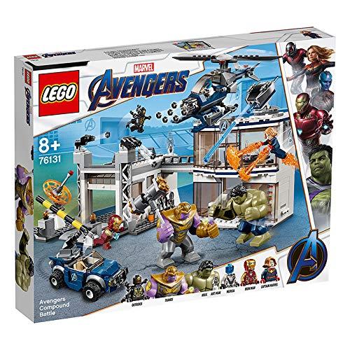 LEGO 76131 Ataque Marvel Avengers Avengers HQ