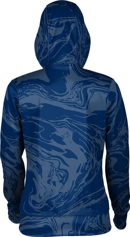 ProSphere Gonzaga University Girls' Zipper Hoodie, School Spirit Sweatshirt (Ripple)