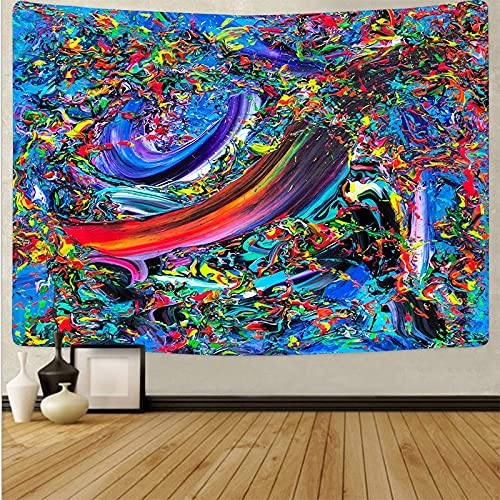Mandala tapiz colgante de pared psicodélico manta de playa decoración de pared arte impresión revestimiento de pared tela de fondo A17 150x200cm