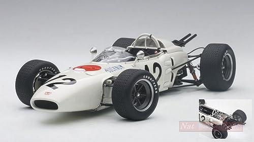 te hará satisfecho AUTOart AUTOart AUTOart AA86598 Honda RA272 R.BUCKNUM 1965 N.12 5th Mexico GP 1 18 Die Cast Compatible con  tienda en linea