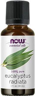 NOW Essential Oils, Eucalyptus Radiata Oil, Revitilizing Aromatherapy Scent, Steam Distilled, 100% Pure, Vegan, Child Resi...