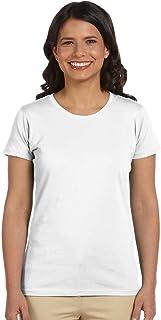 Econscious Ladies Organic Cotton T-Shirt, White, Large. (Pack of 3)