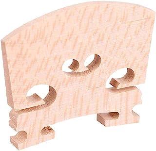 5 Pcs Puente de Violín de Madera de Arce Premium Pieza de Accesorios de Violín para el Aprendiz de Instrumentos