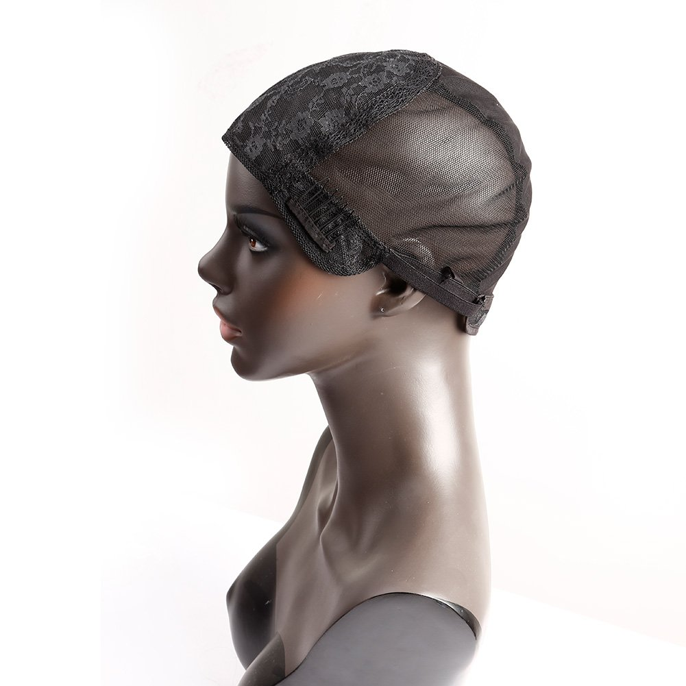 Bella Deluxe Hair Glueless Wig Caps for Combs and Super Special SALE held Women Making with