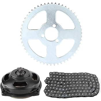 ATV per mini moto veicoli a 4 ruote motrici go kart Catena dorata per pignone a 136/maglie 25 H per motori a 2/tempi da 47/- 49/cc Quad Stoneder