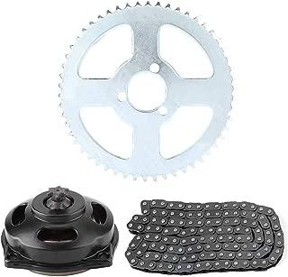 Aramox Drive System T8F Chain & 6T Gear Box & Rear Sprocket Kit for Mini Motorcycle 47cc 49cc