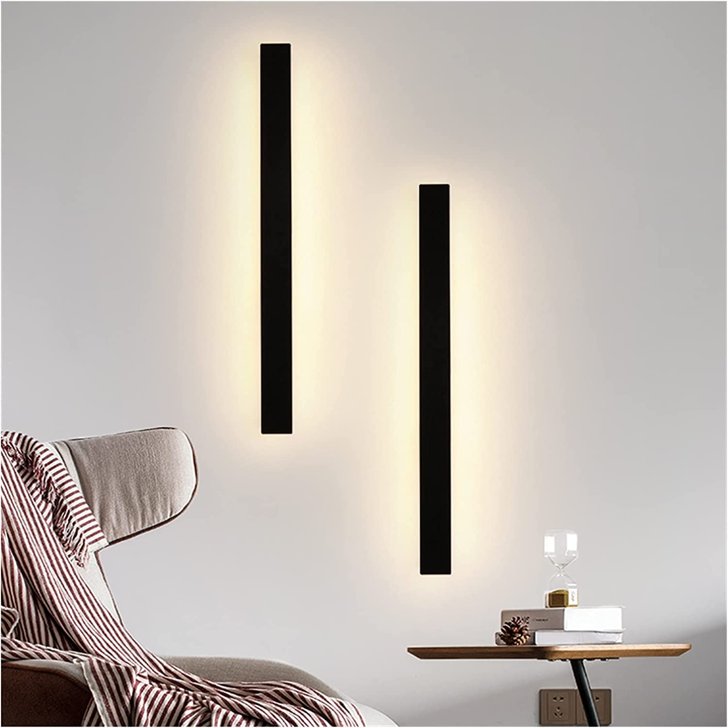 Wall lamp Rectangle Sconce Max 87% OFF Light Outdoor low-pricing Indoor L IP65