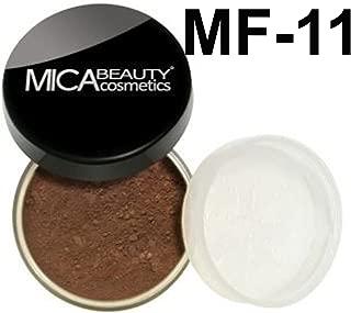 Bundle 3 Items: Mica Beauty 2x Mineral Foundation 9 Gram+ Itay Mineral Premium Quality Kabuki Brush (MF-11)