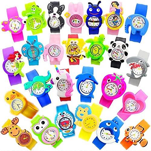 DISOK - Reloj Infantil Silicona. Regalos infantiles para cumpleaños, fiestas, colegios, relojes baratos