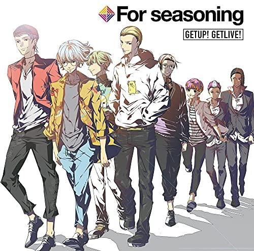 【Amazon.co.jp限定】声優×二次元芸人プロジェクト『GET UP! GET LIVE!』ドラマCD2「GETUP! GETLIVE! For seasoning」(メガジャケット付)