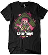 1652-Camiseta Premium Splatoon Color Ops (Gualda Trazos)